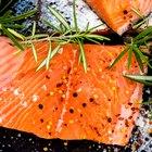 Baked Salmon Filet Nutrition Information