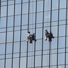 How Much Money Does a High Rise Window Cleaner Make?