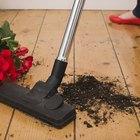 Cómo limpiar polvo de yeso del suelo