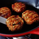 Cook a Frozen Burger in a Skillet