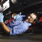 Cómo cambiar una rótula superior en un Chevrolet 2500