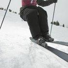 Heridas en los tobillos después de esquiar
