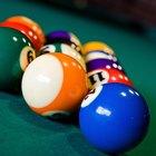 Cómo acomodar correctamente las bolas de pool