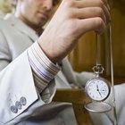 Cómo ajustar un reloj de bolsillo Elgin