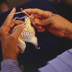 Cómo tejer una bufanda con un gancho Q