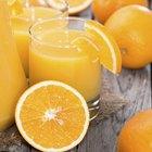 Orange Juice & Fiber