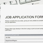 What Does Qualifications Mean on a Job Application?