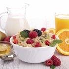 Dieta para mejorar la función pulmonar