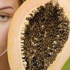 Efectos secundarios de la enzima de la papaya