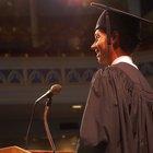 Cómo hacer un discurso de graduación de secundaria