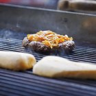 Cooking Burgers on a Weber Q 120 Gas Grill