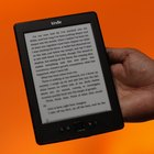 The Kindle boasts a charge that can last up to a month.