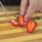 How to Boil Down Strawberries