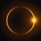 ¿Qué dos partes del sol se pueden ver durante un eclipse total?