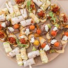 Ideas for Finger Food for a Wedding Buffet