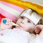 La fiebre alta y el pulso acelerado en reposo en los niños