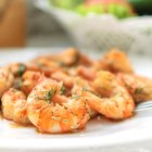 How to Fry Shrimp With Potato Starch