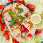 Grilled Swordfish Menu
