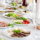 Ways to Serve Dinner at a Wedding Reception