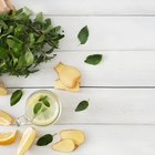 Keep Mint Fresh for Drink Garnishes