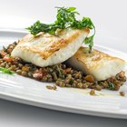 Bake a Frozen Halibut Fillet