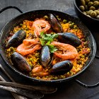 The Calories in Seafood Paella