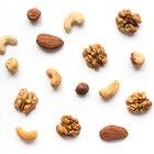 Los diez mejores frutos secos para comer