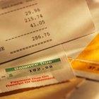 ¿Qué significa un número negativo en mi saldo de la tarjeta de crédito?