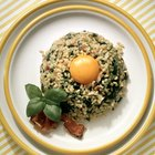 Brown Rice and Eggs for Breakfast