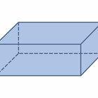 Cómo calcular el volumen de un rectángulo