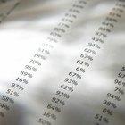 Cómo convertir notas en porcentajes a notas en rúbricas