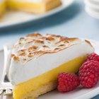 ¿Cuántas calorías hay en un lemon pie con merengue?