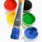 ¿Qué pigmentos hacen el azul y amarillo cuando se mezclan entre sí?