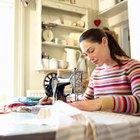 Máquina de coser de brazo libre vs. de gabinete