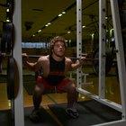 ¿Qué músculos trabajan las sentadillas?