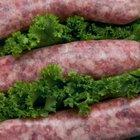 Cómo cocinar salchichas bratwurst en el horno