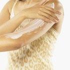 Manchas de piel seca en los brazos
