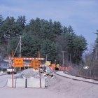 Etapas en la construcción de un camino