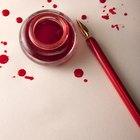 Cómo preparar tinta