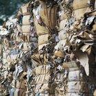 La clasificación de biodegradable y no biodegradable