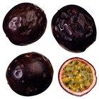 Cómo comer la fruta de la pasión