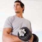 ¿Los músculos retienen agua después de un entrenamiento duro?