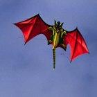 ¿Qué materiales se necesitan para una cometa de dragón?