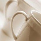 Proceso industrial para hacer tazas de cerámica
