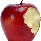 ¿Qué le sucede a una manzana cuando se echa a perder?