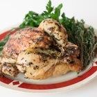 Cómo cocinar un pollo entero en un horno Rival Eight Quart