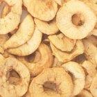 Cómo deshidratar o secar manzanas