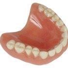 Qué materiales puedo usar para reparar las dentaduras rotas