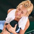 Hinchazón y dolor detrás de la rodilla después del ejercicio