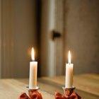 Cómo calcular el calor generado por una vela